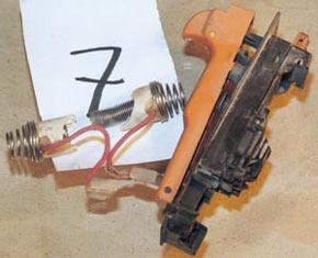Выход из строя пускового резистора